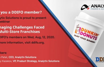 Analytix and DDIFO to Host Webinar on Managing Challenges Faced by Multi-Store Franchisees