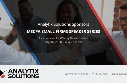 Analytix Sponsors MSCPA Small Firms Speaker Series
