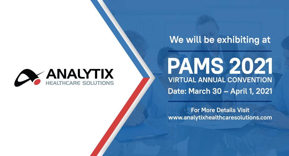 Analytix Healthcare Solutions Will Exhibit at the PAMS 2021 Virtual Annual Convention