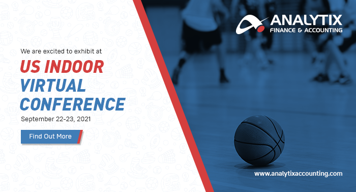 Analytix Solutions will exhibit at the US Indoor's 2021 Virtual Facility Operators Conference & Tradeshow
