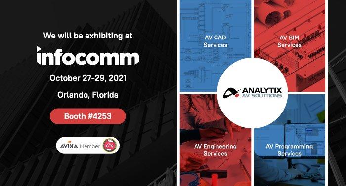 Analytix AV Solution Will Exhibit at the Infocomm 2021 Annual Event