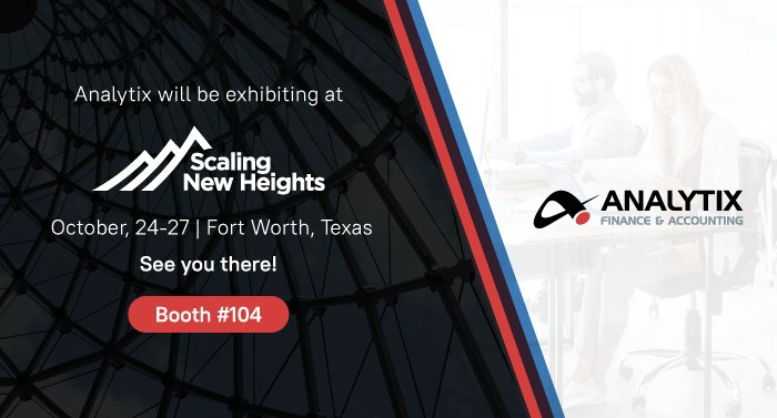 Analytix Accounting Will Exhibit at the Scaling New Heights 2021 Annual Event